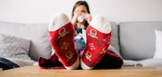 التخلص من تورم القدمين بعد الولادة