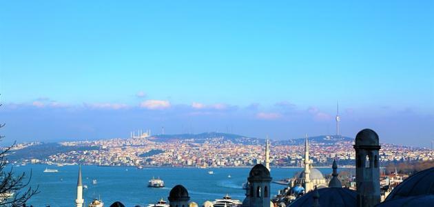 كم تبلغ مساحة إسطنبول