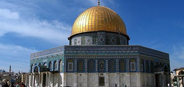 أهم المعالم في فلسطين