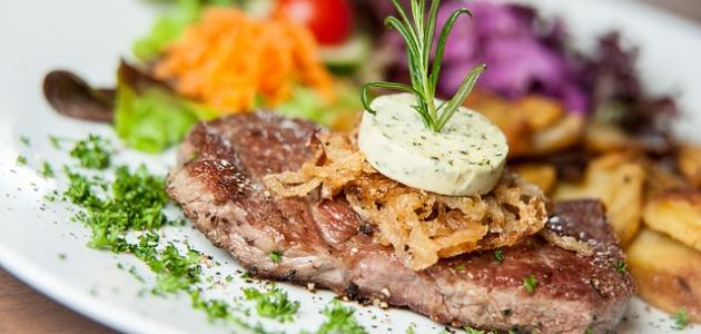 طريقة طهي شرائح اللحم