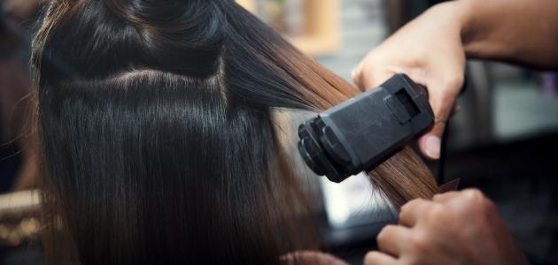 كيفية الحصول على شعر ناعم دون سشوار