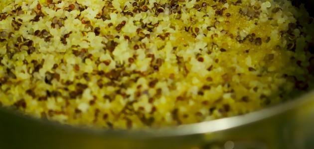 طريقة طبخ الكينوا مثل الأرز