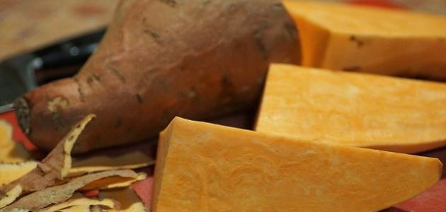 طريقة طهي البطاطا الحلوة في الفرن