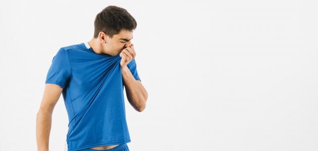 إزالة رائحة العرق الكريهة
