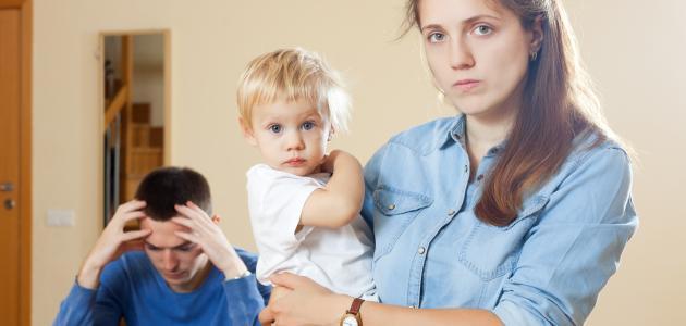 آثار الطلاق على الأسرة