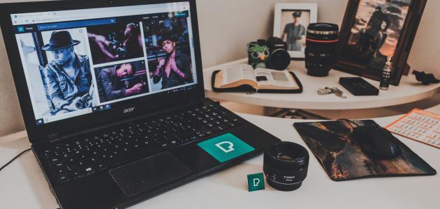 طريقة التقاط الصور من سطح المكتب