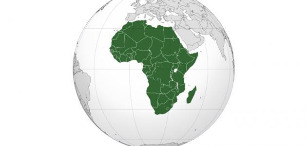 تضاريس قارة إفريقيا