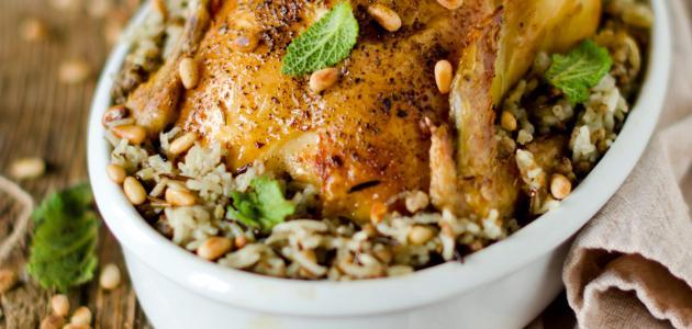 كيفية طبخ الدجاج المحشي