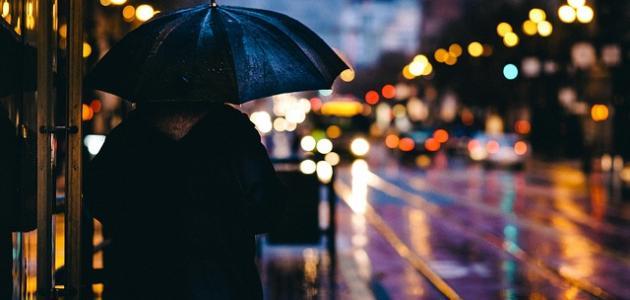 أجمل ما قيل في نزول المطر