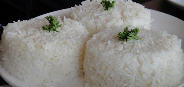 كيفية طبخ الرز الابيض