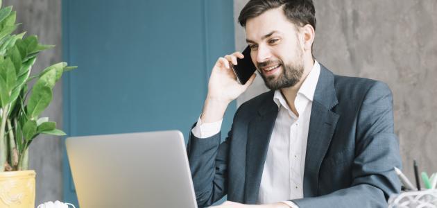 كيفية التعامل مع العملاء عبر الهاتف