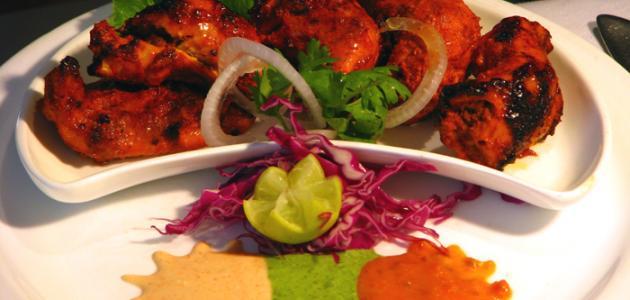 طريقة عمل الدجاج التندوري الهندي