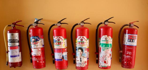 طريقة إطفاء حريق الكهرباء