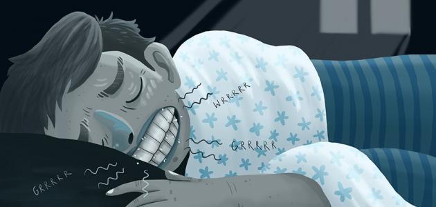 أسباب اللعاب أثناء النوم