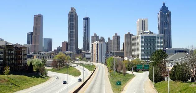 أكبر مدن جورجيا
