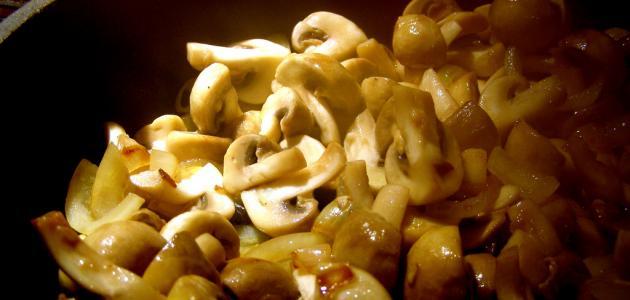 Methods of cooking mushrooms