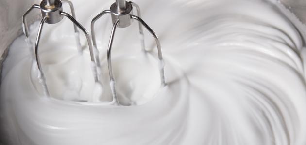 كيف نصنع كريمة الكيك