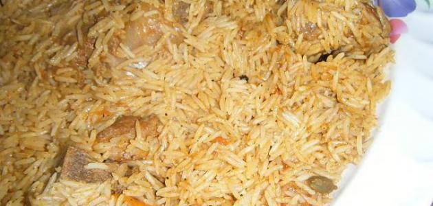 كيفية عمل ارز الكبسة
