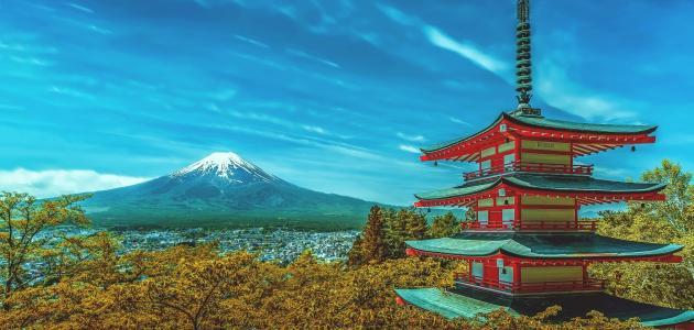السياحة إلى اليابان