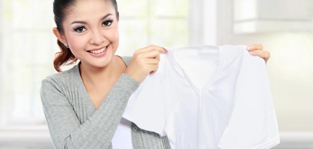 كيف أزيل بقع الزيت من الملابس