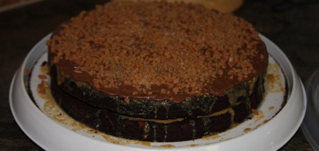كيف تصنع كعكة الشوكولاتة