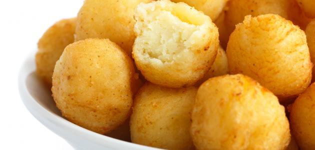 طريقة كرات البطاطس