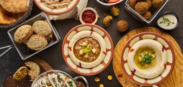 أكلات لبنانية بالحمص