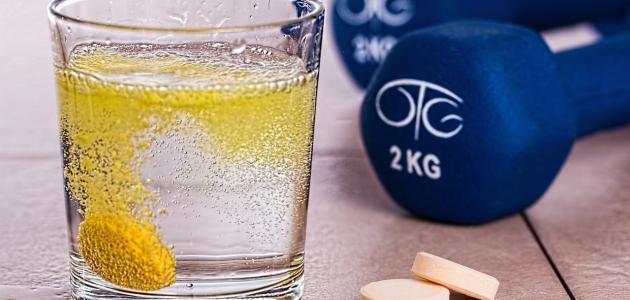 أضرار شرب فيتامين سي الفوار يوميا