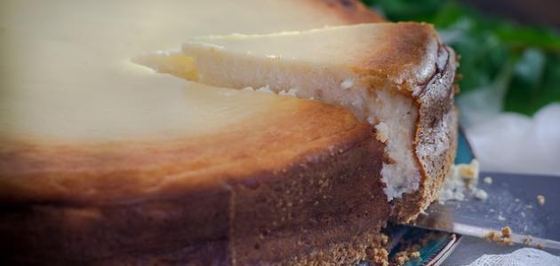 كعكة الجبنة