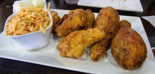 أكلات غربية بالدجاج
