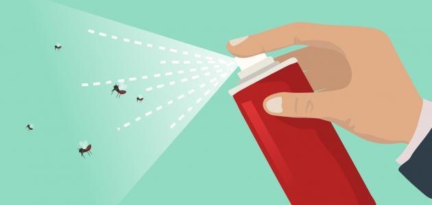 أضرار مبيد الحشرات على الإنسان