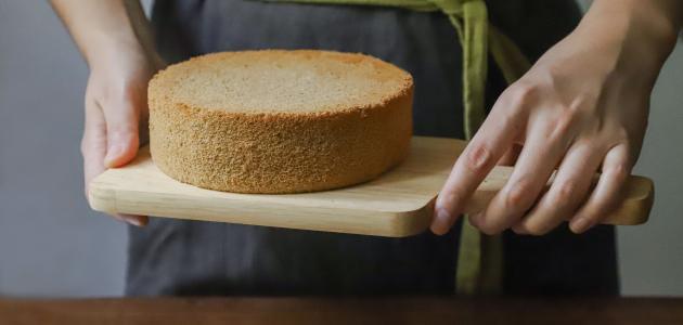 طريقة عمل كيك اسفنجي بدون بيض
