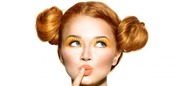 كيف أغير لون شعري البرتقالي