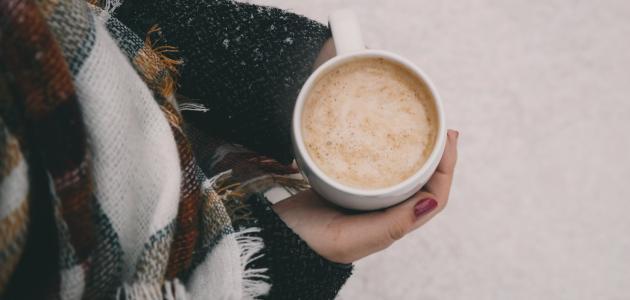 كلمات عن القهوة والشتاء