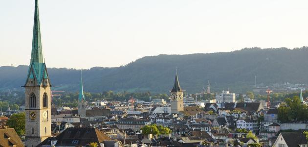 أكبر مدينة من حيث عدد سكان سويسرا