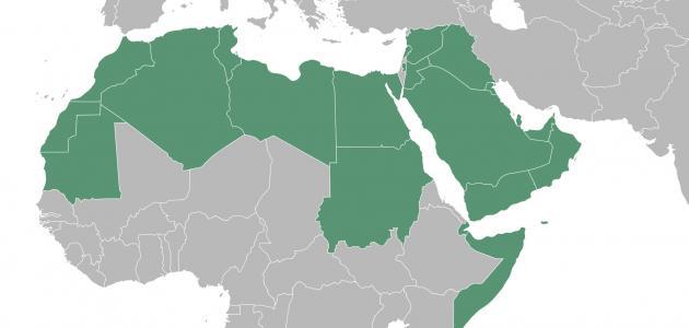 بحث عن تضاريس وطننا العربي