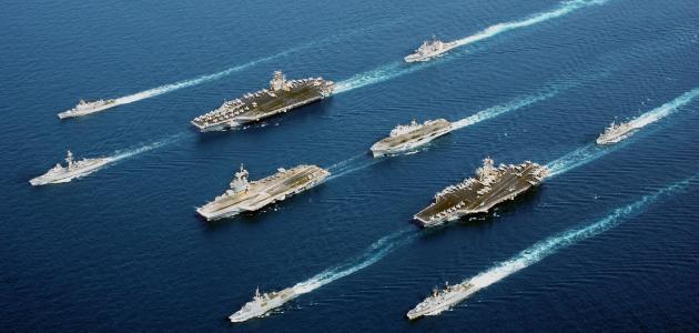 أكبر أسطول بحري في العالم