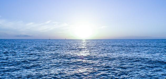 ما الفرق بين البحر والمحيط