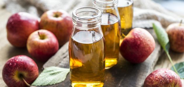 كيفية استعمال خل التفاح للشعر الدهني