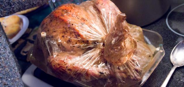 طريقة عمل دجاج بالفرن بالكيس
