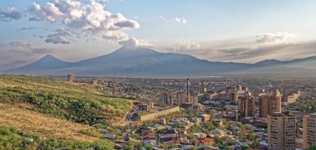 ما عاصمة أرمينيا