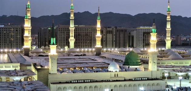 أجر الصلاة في المسجد النبوي