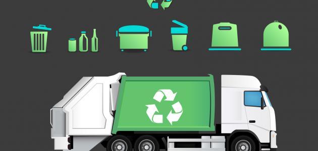 إعادة تدوير القمامة