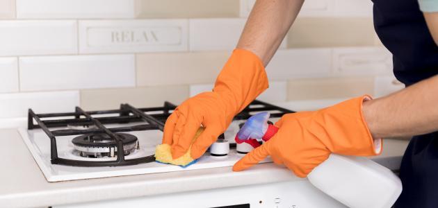 كيفية نظافة المطبخ