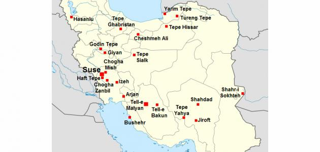 ما هي مساحة إيران