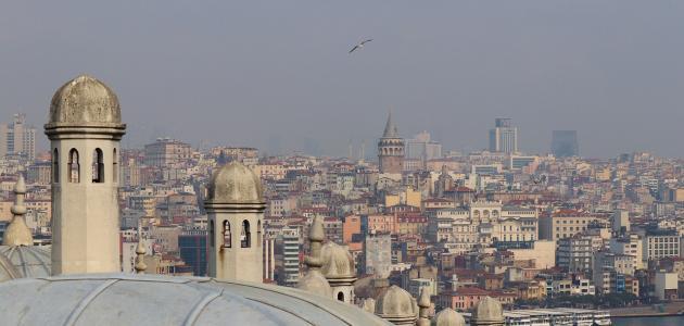 ما هي مساحة تركيا وعدد سكانها