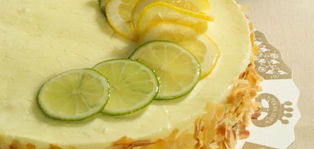 كيكة الليمون