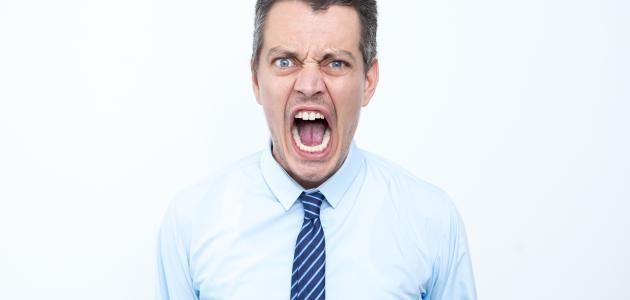 ما هي أسباب الغضب