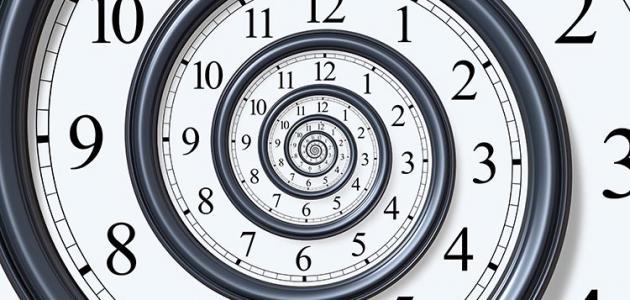 حكم عن الوقت