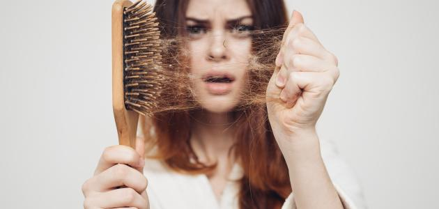 طريقة التخلص من تساقط الشعر